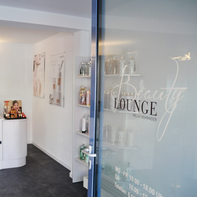 Eingang Beauty Lounge
